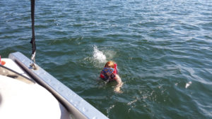 lucky-strike-resort-webster-wi-beach-swimming